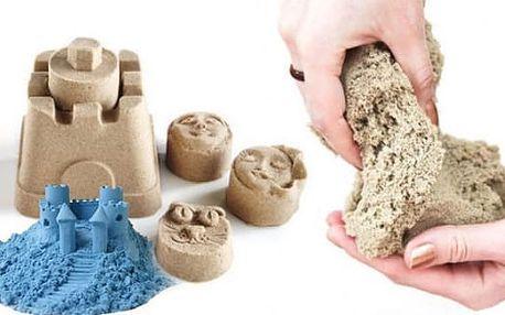 Magický kinetický písek 300 g nebo 1 kg + formičky již od 199 Kč včetně poštovného