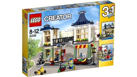LEGO® Creator 31036 Obchod s hračkami a potravinami
