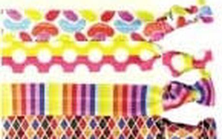 DTANGLER Band Set gumiček do vlasů Disco