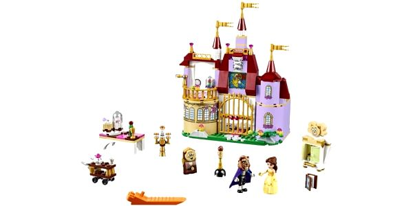 LEGO® Disney Princess™ 41067 Bella a kouzelný hrad2