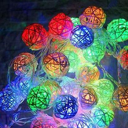 Designové dekorativní osvětlení - Rattan 3D. Vhodné pro jakýkoliv interiér.