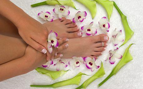 30min. japonská manikúra nebo 60min. kompletní mokrá pedikúra s masáží nohou