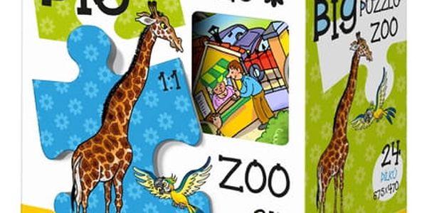 EFKO Puzzle BIG ZOO BABY - 24 ks