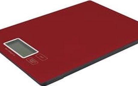 Emos TY3101R - kuchyňská digitální váha , červená; 2617001402