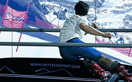 2 lekce na trenažéru carvingu Skytec Interactiv