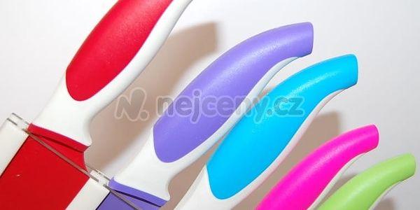 Maxwell & Williams sada 5 nožů ve stojanu Slice & Dice, barevné3