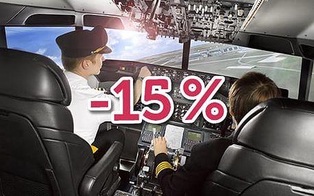 Extra sleva 15% na všechny kurzy!