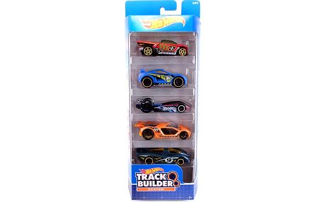 Hot Wheels Angličák 5ks - Track Builder
