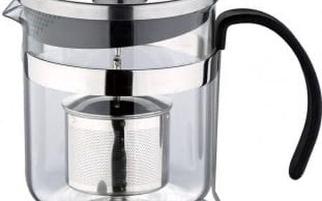 Konvička na čaj s čajítkem nerez 600 ml RENBERG RB-3110