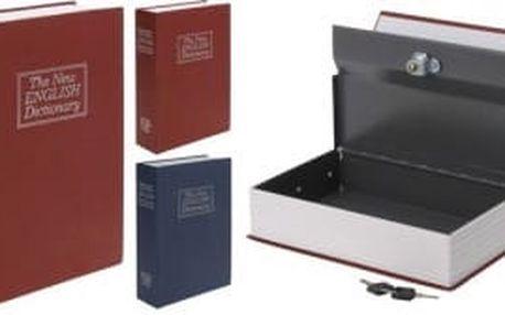 Bezpečnostní schránka kniha 24 x 16 cm KAISERHOFF KO-C37880230