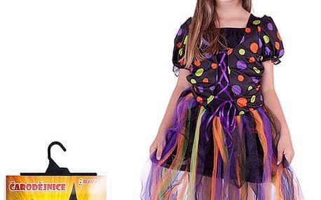 Kostým čarodějnice, dlouhá sukně, vel. S