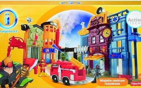 Fisher Price Imaginext Městské záchranářské centrum
