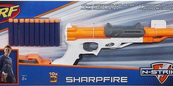 NERF Elite Sharpfire 6 v 12