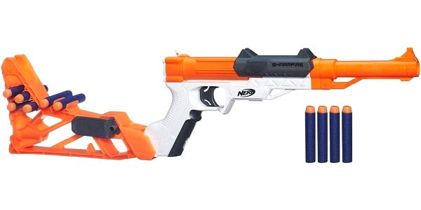 NERF Elite Sharpfire 6 v 1