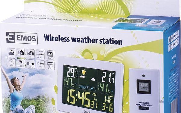 EMOS Domácí bezdrátová meteostanice E5062 *E5062; 26061440005