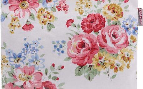Krémová květovaná taštička na kosmetiku Cath Kidston