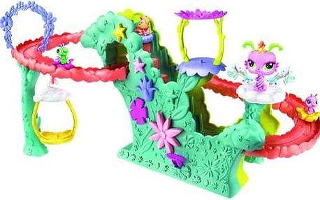 Hasbro Littlest Pet Shop Velký hrací set okouzlující víly