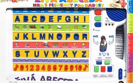 Tabulka naučná-živá abeceda (živá česká abeceda-naučná tabulka)