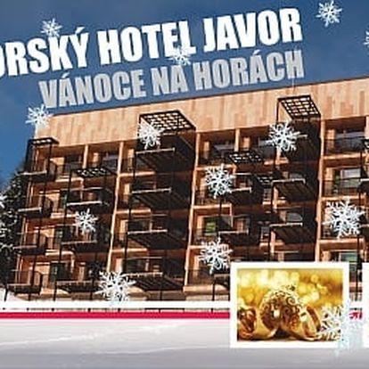 Krkonošské Vánoce na Hotelu Javor*** za 1820 Kč