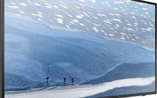 Televize Samsung UE50KU6072 černá Flash USB Kingston DataTraveler 50 32GB USB 3.0 - červený/kovový (zdarma) + Doprava zdarma2