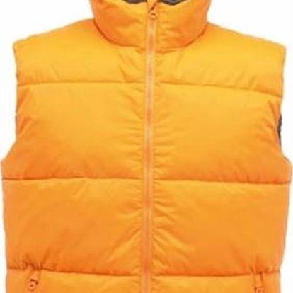 Pánská vesta Regatta TRA809 GEOMETER Sun Orange