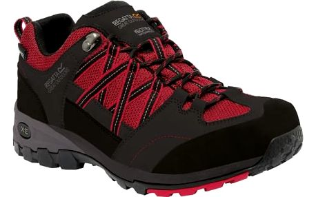Pánské boty Regatta RMF499 Samaris Low black/red
