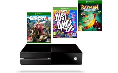 Microsoft 1 TB + hra XONE Far Cry 4 + hra XONE Rayman Legends + hra XONE Just Dance 2016 (MSOH00037 )