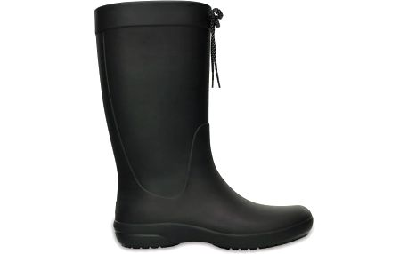 Crocs Freesail Rain Boot Black, dostupné velikosti 37-42