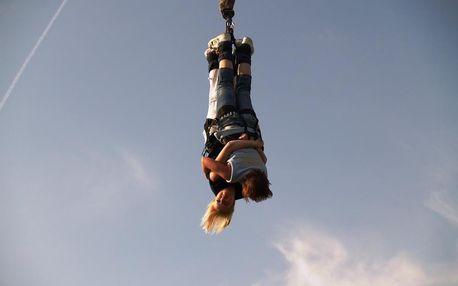 Bungee jumping z jeřábu v Olomouckém kraji