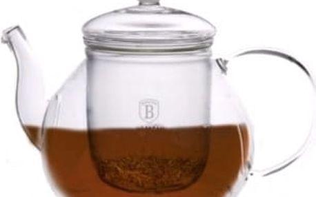 Konvička na čaj louhovací 1 l BLAUMANN BH-1363, Černá