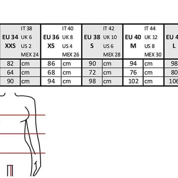 Černé elegantní kalhoty se vzorem Alchymi Castor4