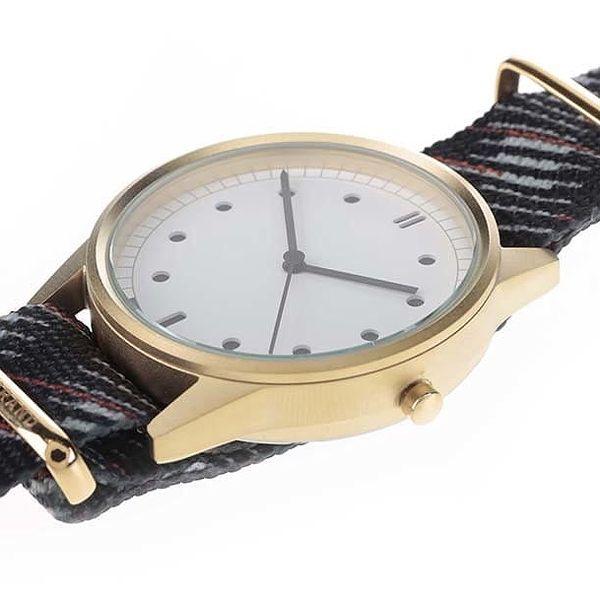 Pánské hodinky ve zlaté barvě HYPERGRAND2