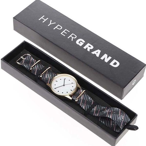 Pánské hodinky ve zlaté barvě HYPERGRAND3