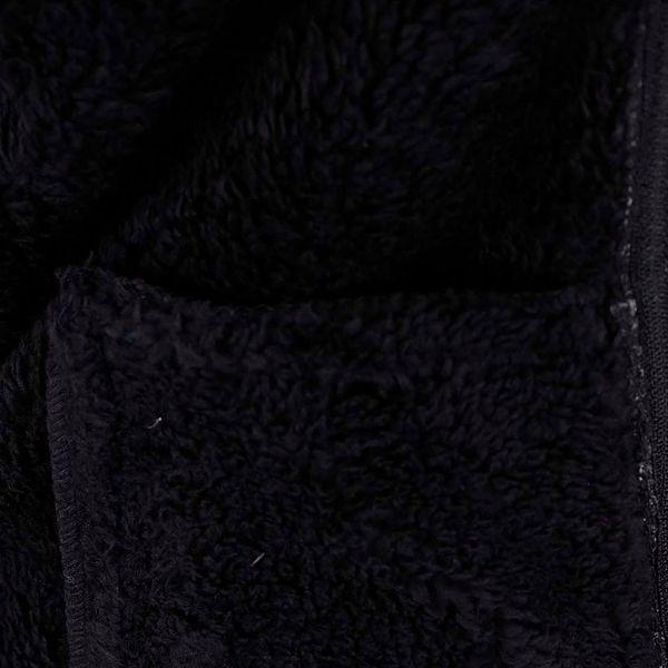 Černá žíhaná klučičí softshell bunda name it Beta3