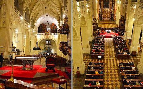 Adventní a vánoční koncerty v kostele u Karlova mostu: varhanní hudba nebo Vivaldi
