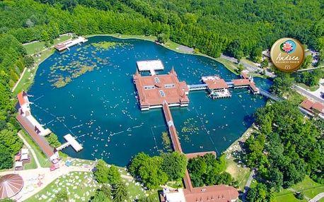 Relaxační pobyt u maďarského jezera Hévíz