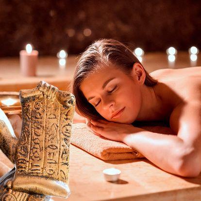 Egyptské masáže: 120 minut péče jako pro krále