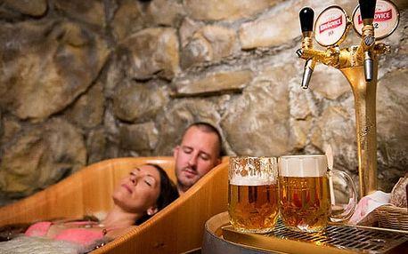 Relaxace v Pivních lázních v Mělníku