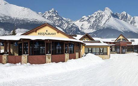 Rodinná dovolená pod zasněženými Tatrami v Hotelu Amalia***+