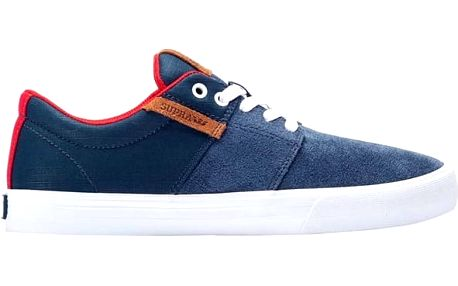 boty SUPRA - Stacks Vulc Ii Navy/Red-Wht (419)