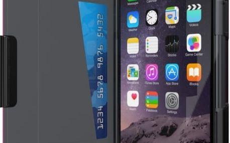 Pouzdro typu kniha Tech21 Evo Wallet pro Apple iPhone 6 Plus/6S Plus, kouřové