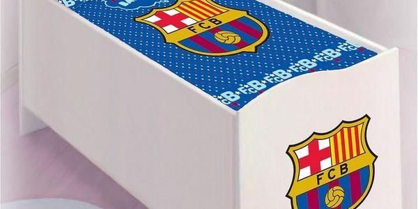 TipTrade dětské povlečení do postýlky FC Barcelona, 100 x 130 cm, 40 x 60 cm2