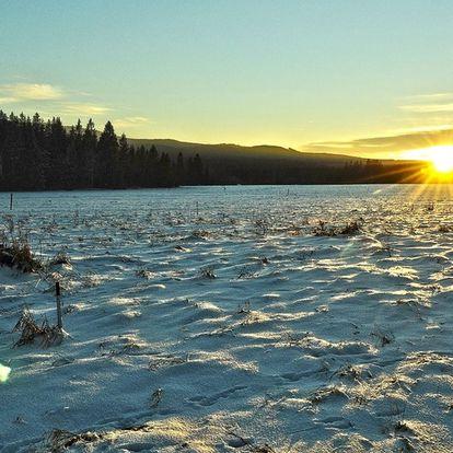 Pohádková zima na Eko farmě Orlí vrch s polopenzí pro dva a dítětem do 12 let zdarma