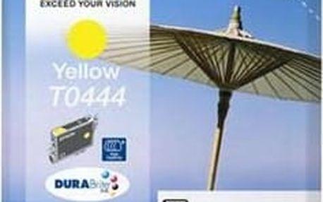 Žlutá inkoustová kazeta Epson T0444 pro C64,C66,C84 - Originální