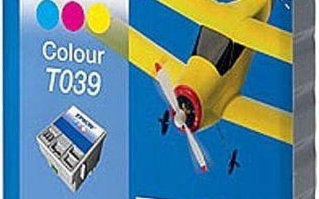 Tříbarevná inkoustová kazeta Epson T039 pro Stylus C43 - Originální
