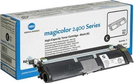 Černá tonerová kazeta Konica Minolta pro MagiColor 2400/2500 - Originální