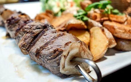 Zvěřinové menu pro dva v restauraci Lovecká chata