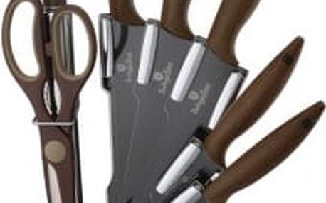 Sada nožů ve stojanu 8 ks nerez Forest LineBERLINGERHAUS BH-2086