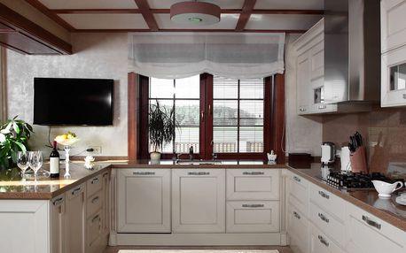 Vysoce odolný kuchyňský koberec Bouquet, 60x115 cm