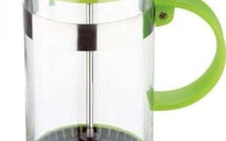 Konvička na čaj a kávu French Press 350 ml zelená RENBERG RB-3107zele